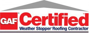 GAF Certified Weather Stopper Roofing Contractor